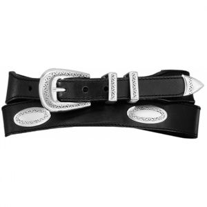 Brighton | Leather Taper Ornament Belt | One Left!